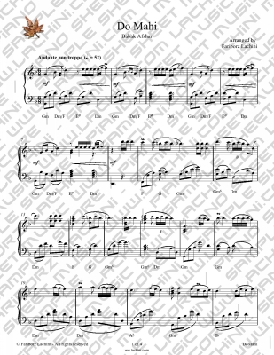 Do Mahi Sheet Music