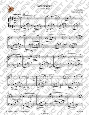 Del Asireh Sheet Music