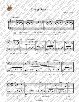 Flying Dream Sheet Music