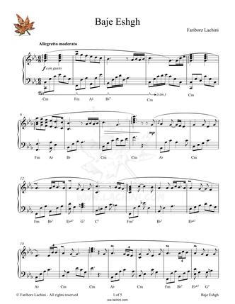 Ransom for Love Sheet Music