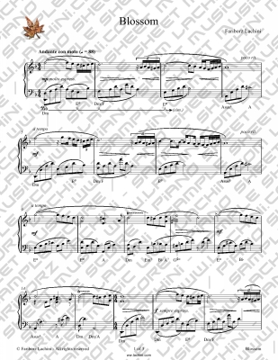 Blossom Sheet Music