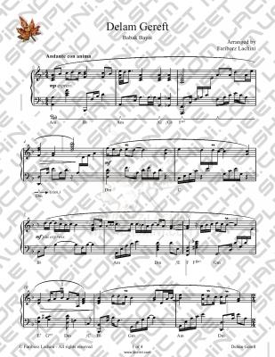 Delam Gereft 音乐页