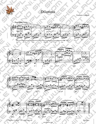 Murmuring Creek Sheet Music
