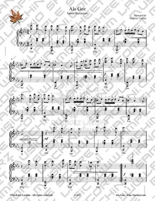 Ala Goz Sheet Music