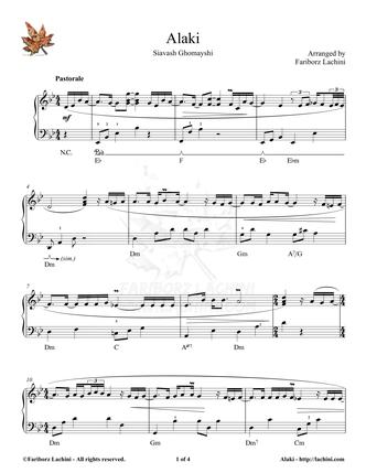 Alaki Sheet Music