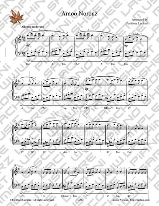 Amoo Norouz Sheet Music