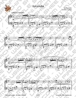 Nemisheh Ghosseh Maro Sheet Music