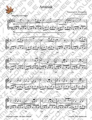 Arousak Sheet Music