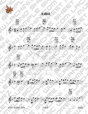 Ashti Sheet Music