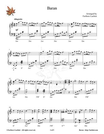 Baran Musiknoten