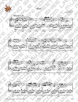 Barf Sheet Music