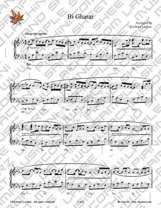 Bi Gharar Sheet Music