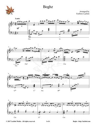 Boghz Sheet Music