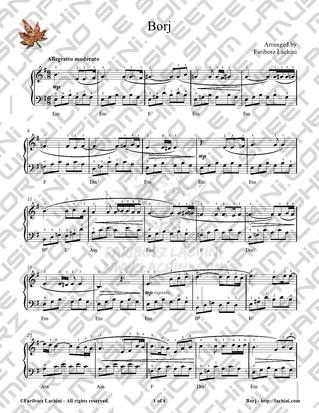 Borj 音乐页