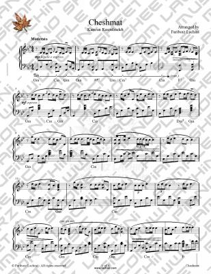 Cheshmat Sheet Music