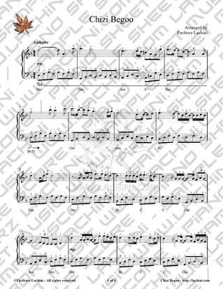 Chizi Begoo Sheet Music