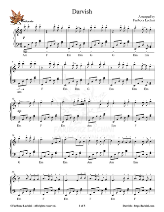Darvish 2 Sheet Music