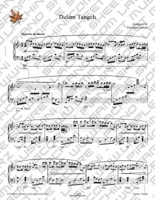 Delam Tangeh 音乐页