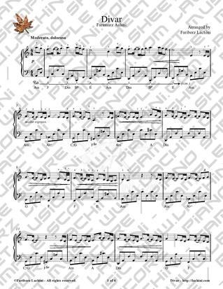 Divar 4 音乐页