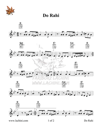 Do Rahi Ebi 音乐页