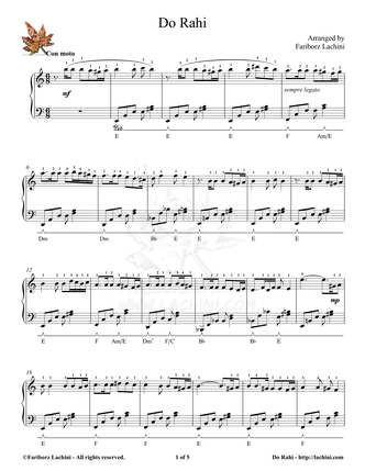 Do Rahi 2 Sheet Music