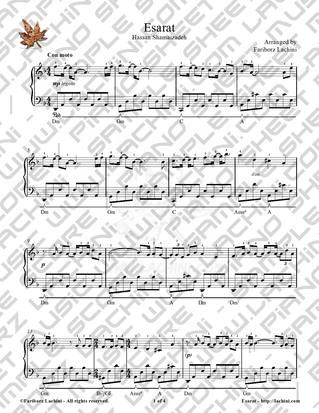 Esarat 2 Sheet Music
