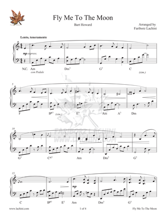 Fly Me to the Moon Sheet Music