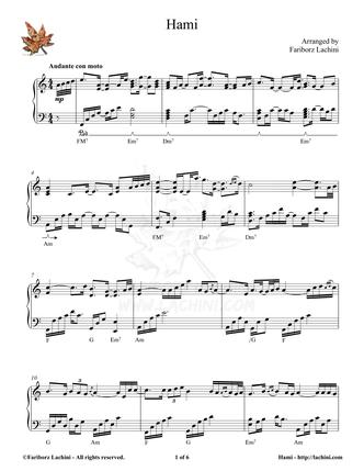 Hami Sheet Music