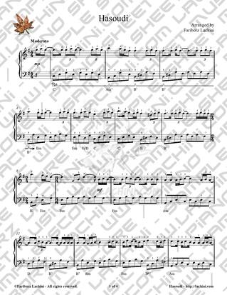 Hasoudi Sheet Music