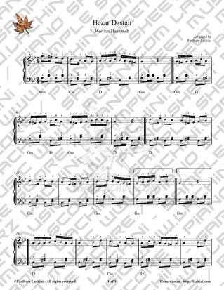 Hezar Dastan 音乐页