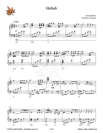 Hobab Sheet Music