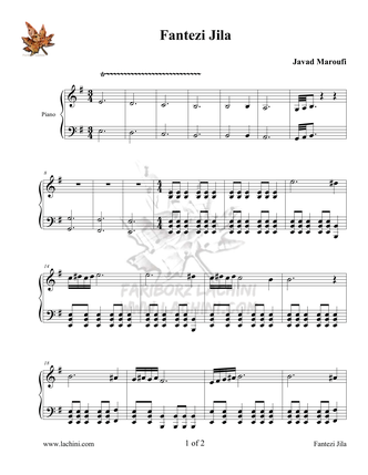 Jila Sheet Music