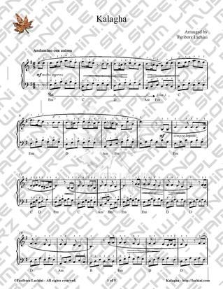 Kalagha Sheet Music