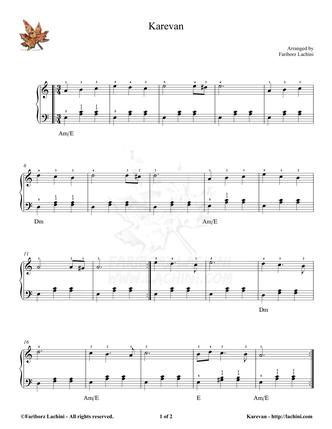 Karevan Musiknoten