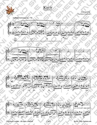 Kavir Sheet Music