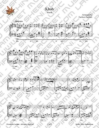 Khab Sheet Music