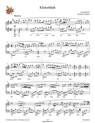 Khaterkhah 音乐页