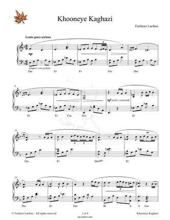 Paperhouse Sheet Music