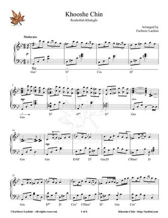 Khooshe Chin 音乐页