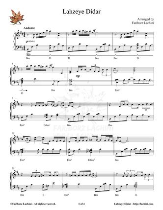 Lahzeye Didar 音乐页
