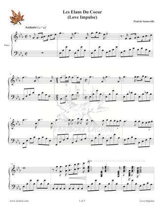 Love Impulse Sheet Music