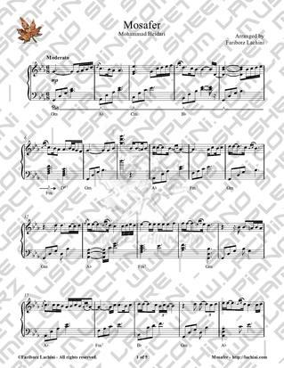 Mosafer 音乐页