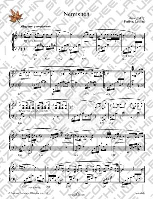 Nemisheh Sheet Music