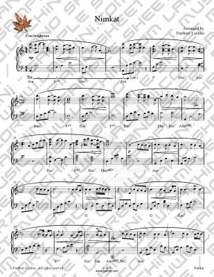 Nimkat Sheet Music