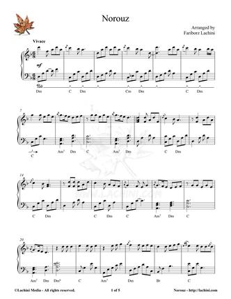 Norouz Sheet Music