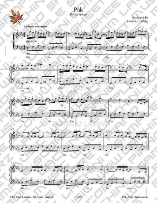 Pak 音乐页