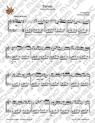 Parvaz Sheet Music