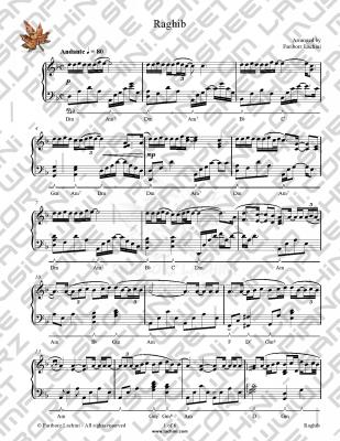 Raghib Sheet Music
