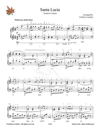 Santa Lucia 音乐页