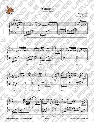 Setareh Sheet Music